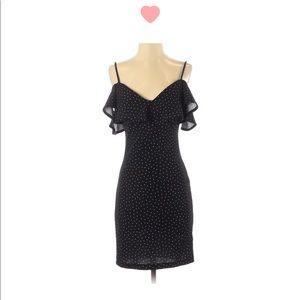 Love Nickie Polka Dot Mini Dress (S)